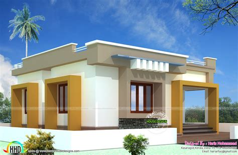 10 lakhs budget house plan kerala home design and floor