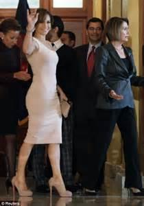 Dress Nancy Jenifer now pours figure into a