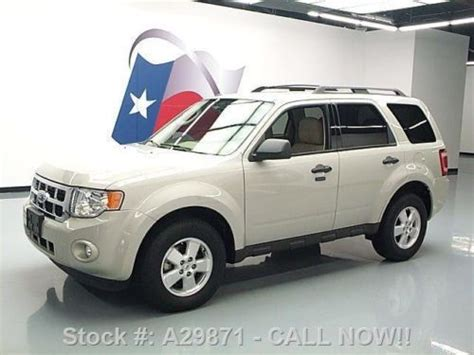 buy used 2009 ford escape xlt heated leather roof rack 64k