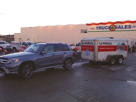 u haul boat trailer rental towing a uhaul trailer with original mercedes hitch page