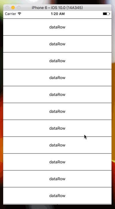 Listview Tutorial React Native | github nanamorse react native pull up listview a