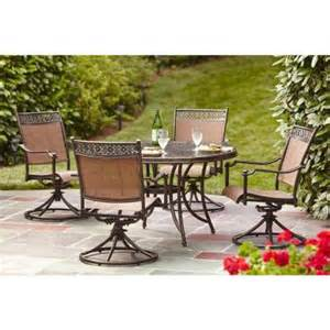 Home Depot Patio Dining Sets Hton Bay Niles Park 5 Sling Patio Dining Set S5 Adh04301 The Home Depot