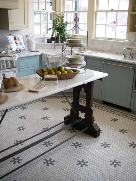 Floor It Today by Today S Use Of Tile In Classic Kitchens House House