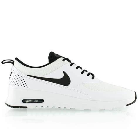 Nike Air Thea Black List White nike wmns nike air max thea white black white bei kickz