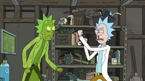 Rick And Morty Detox by Rick And Morty Just Gave Us A Glimpse Of Morty Becoming