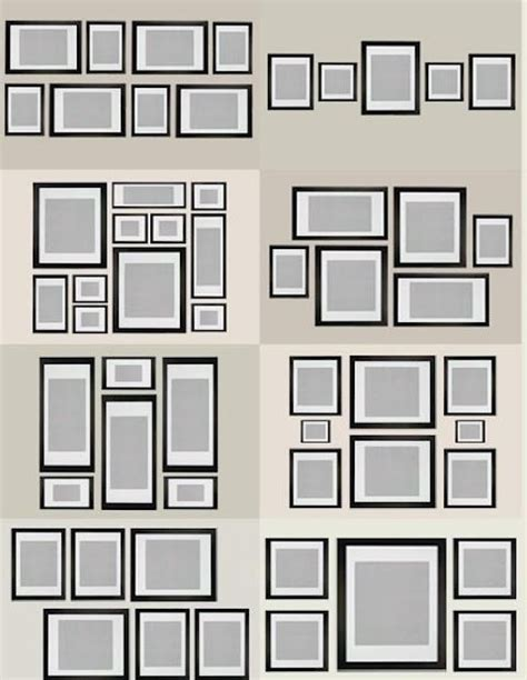 gallery wall layout how to create a gallery style photo wall my love of