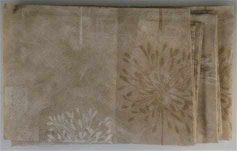 Kathy Ireland Curtains New Kathy Ireland Leeward Coast Fabric Shower Curtain Beige Neutral Liner Brown Ebay