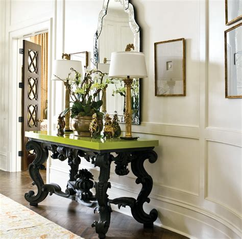 entry way table ideas bloombety foyer table with mirror walls ideas foyer