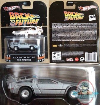 Hotwheels 1 64 Retro Back To The Future Time Machine Hover Mode 1 1 64 scale wheels retro entertainment back to the