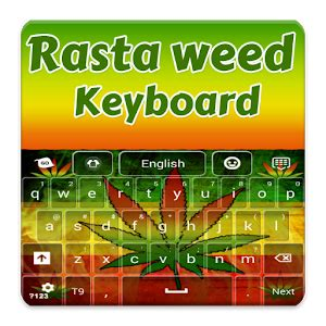 go keyboard themes rasta rasta weed keyboard android apps on google play