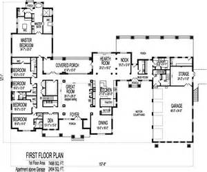 Large House Blueprints 6 Bedroom Bungalow 10000 Sf 1 Storey House Plans Sioux