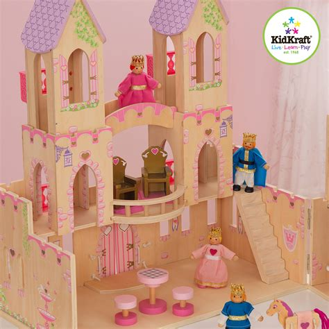 princess doll houses princess dollhouse castle wooden 14 pieces girl s children kid play new ebay