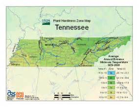 us time zone map knoxville tn plant hardiness zones tennessee master gardeners of