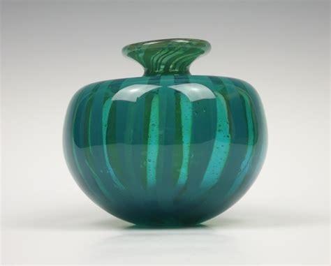 Globe Vase by Mdina Glass Ming Globe Vase