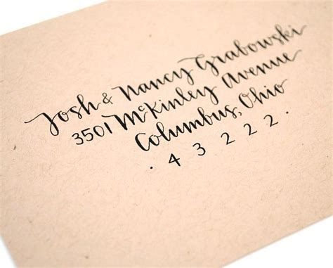 25  best ideas about Calligraphy Envelope on Pinterest