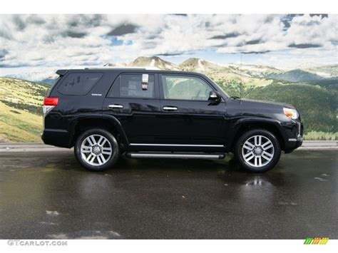 2012 Toyota 4runner Limited Black 2012 Toyota 4runner Limited 4x4 Exterior Photo