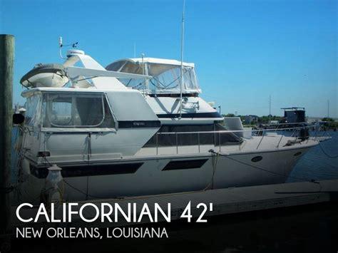 motor yacht for sale louisiana for sale used 1987 californian 42 double cabin motoryacht