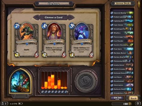 hearthstone arena deck hearthstone for deck building ranked play and arena