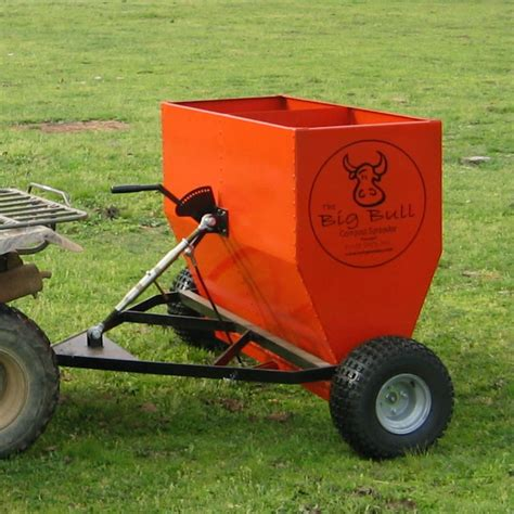 compost spreader bigbull