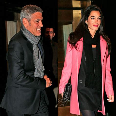 And George Clooney Might Be Dating by George Clooney Enagaged Amal Alamuddin Spotted