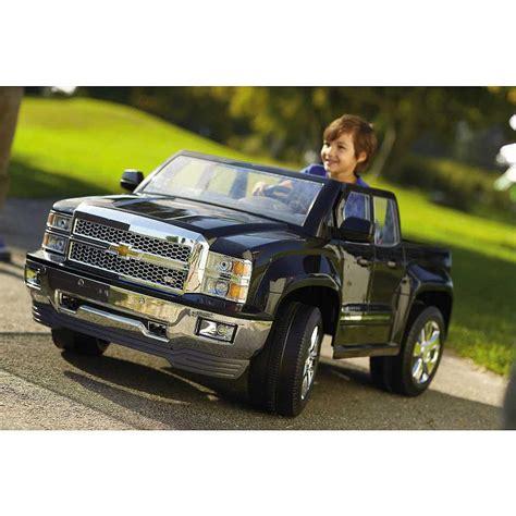 chevrolet silverado power wheels chevy silverado 12v battery power ride on truck