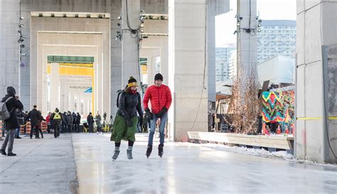event design jobs toronto meet the bentway a cathedral like park under a toronto