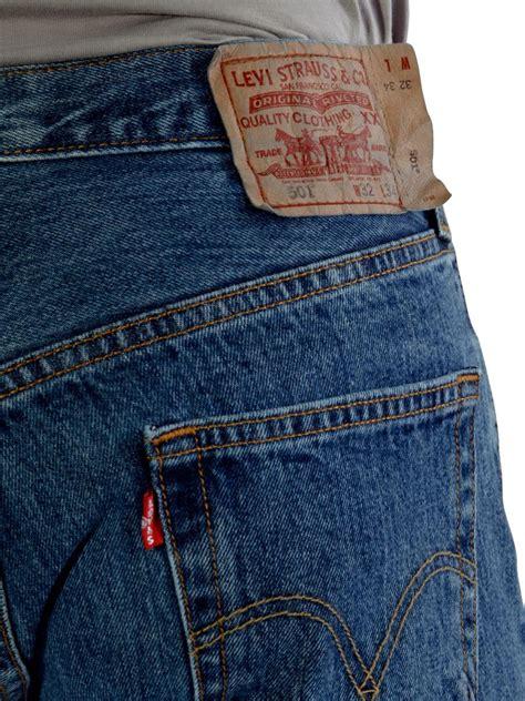 Rompi Levis Blue Black levi s 501 s original fit leg button fly 501 0193 stonewash ebay