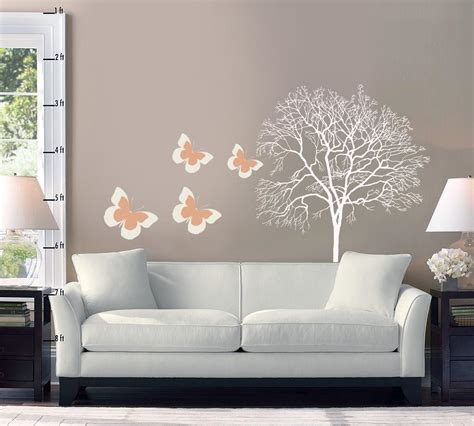 stencil home decor wallpaper living room marceladick com