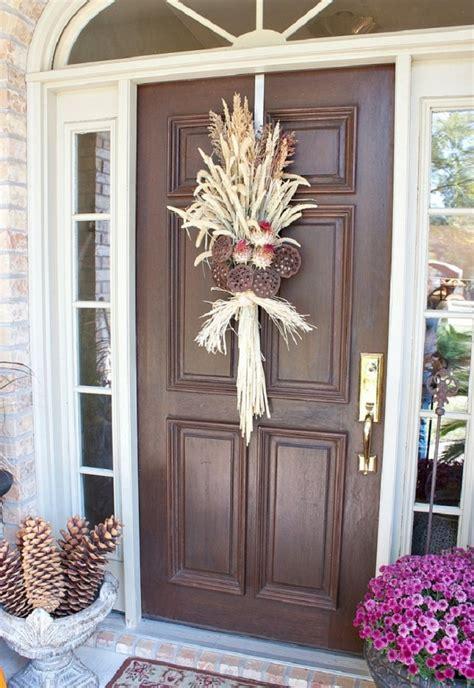 top  amazing diy fall door decorations top inspired