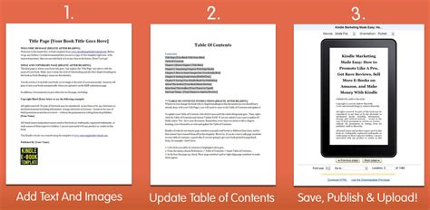 Number 1 Kindle Template Kindletemplatez Ebook Template Word Free