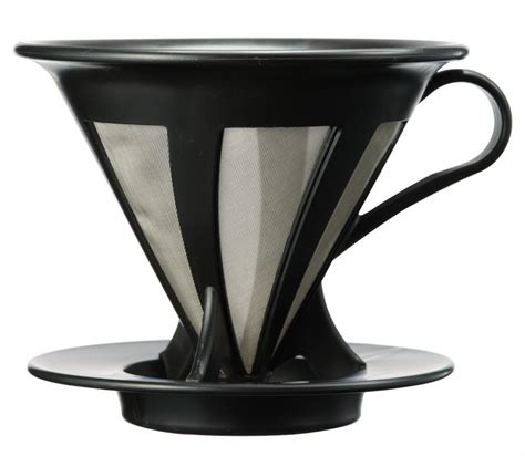 Promo V60 Cone Coffee Filter Stainless Coffee Dripper Saringan Kopi 5 best hario coffee dripper brewing extraordinary coffee