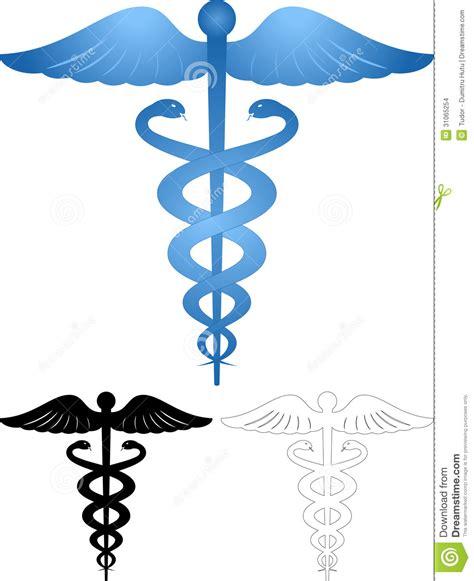 caduceus medical symbol stock images image 31065254