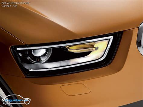 Foto Audi Q3 Frontscheinwerfer Bilder Audi Q3 Bildgalerie (Bild 12)