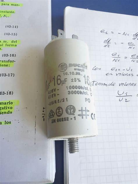 capacitor motor lavarropas solucionado motor fuerzas drean 166 yoreparo