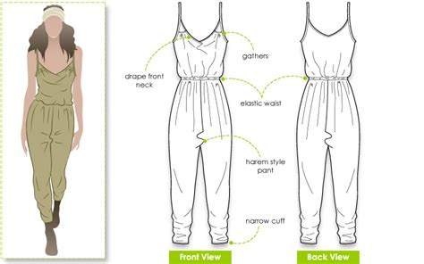 jumpsuit pattern free sewing ruby jumpsuit style arc