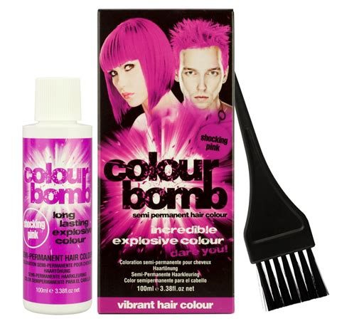how to wash semi permanent hair color out colour bomb semi permanent hair colour i