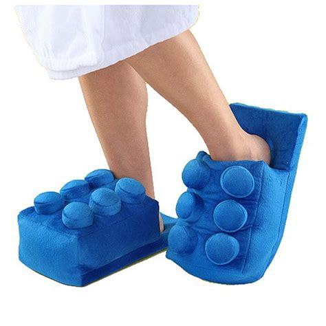 lego slippers for lego building brick slippers