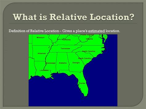 A Place Location Geography Skills Review Ppt