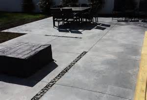 Black And Gray Bathroom Ideas Modern Concrete Patio Long Island Modern Patio New