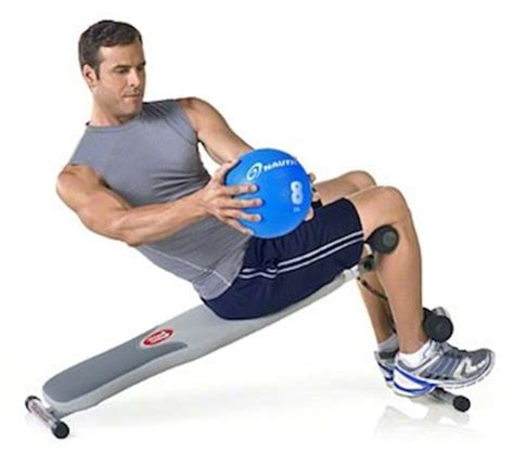 abs on bench universal decline bench sit up ab crunch board fitness