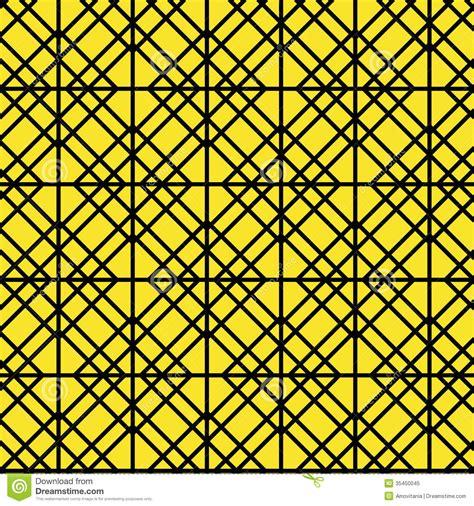 geometric pattern yellow contour geometric pattern on yellow background royalty