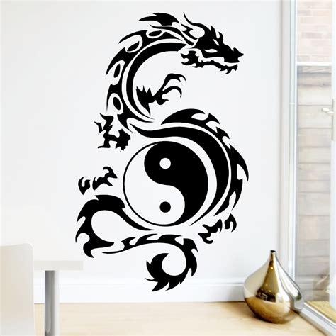 schlafzimmer yin yang wandtattoo ying yang reuniecollegenoetsele