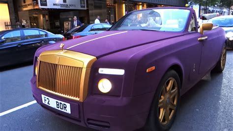 velvet rolls royce purple velvet gold rolls royce drophead in