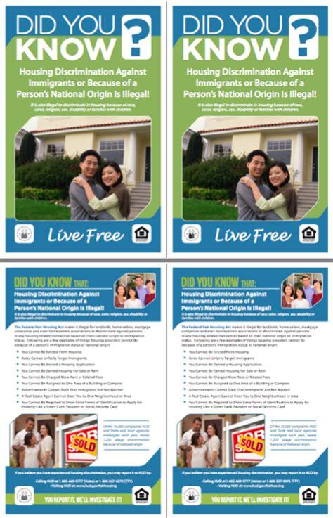 Housing Discrimination Exles by Nfhm Housing Discrimination Against Immigrants