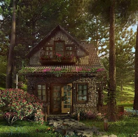 Black Forest Cottages by Perfectly Picturesque Cabin In The Woods Rounded