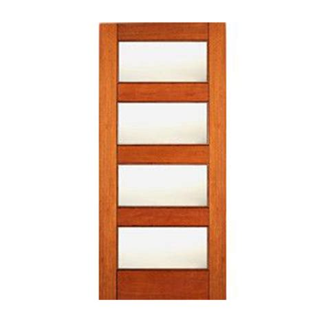 4 Lite Exterior Door 4 Lite Equal Mate Glass Mahogany Interior Door Craftwood Products For Builders And Designers