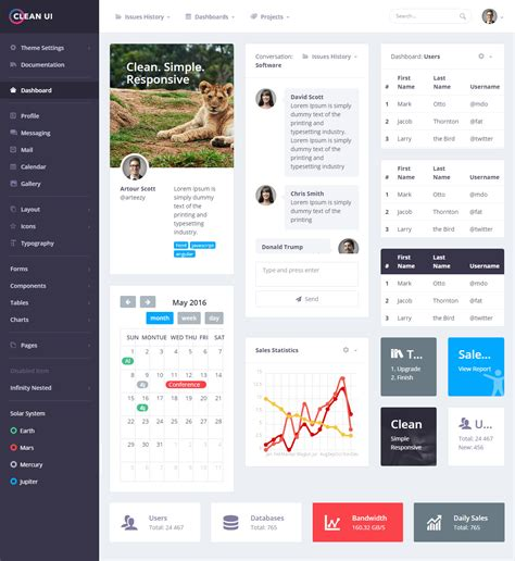 free bootstrap templates for online exam clean ui is premium full responsive admindashboard html5
