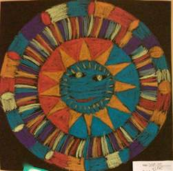aztec suns art projects from mn art gal