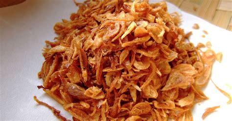 membuat kentang goreng renyah tahan lama tips bawang goreng renyah tahan lama resep masakan indonesia