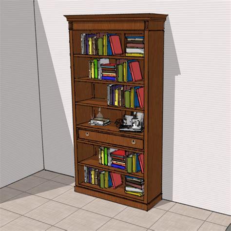 librerie in ciliegio libreria in ciliegio b105 meroni arredamenti